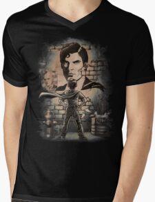 You'll Always Be My Hero Mens V-Neck T-Shirt