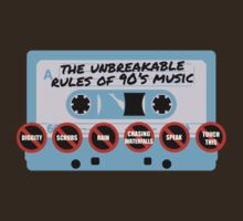 The Unbreakable Rules Of 90's Music by BenClark