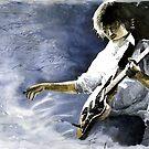 Jazz Guitarist Last Accord by Yuriy Shevchuk
