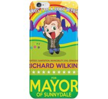 Richard Wilkins for Mayor iPhone Case/Skin
