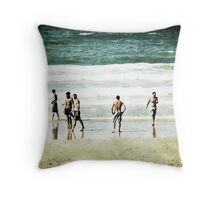 Beach boys Throw Pillow
