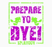 Prepare to Dye! Splatoon Series (Green & Purple) Unisex T-Shirt