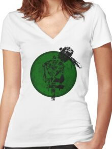 Underground (Jak 2) Women's Fitted V-Neck T-Shirt