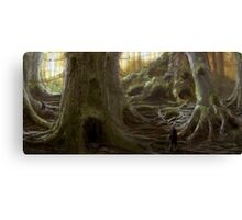 Treehouse Community Canvas Print