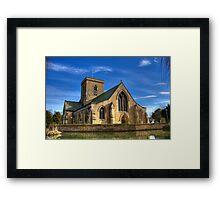 St. Helens Church, Welton, UK Framed Print