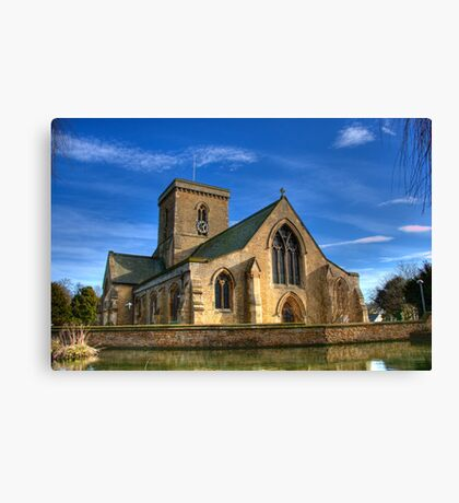 St. Helens Church, Welton, UK Canvas Print