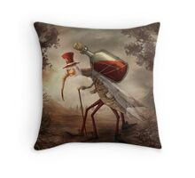 Old mosquito Throw Pillow