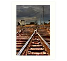 On the Track Art Print