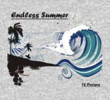 """ Big Wednesday"" Endless Summer Series by Taniakay"
