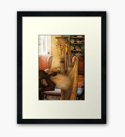 Music - The Harp Framed Print