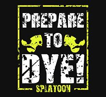 Prepare to Dye! Splatoon Series (White & Yellow) Unisex T-Shirt