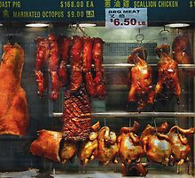 Food - Roast meat for sale by Mike  Savad