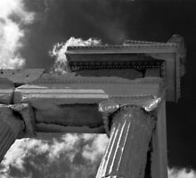 Columns on the Acropolis by Susan Chandler
