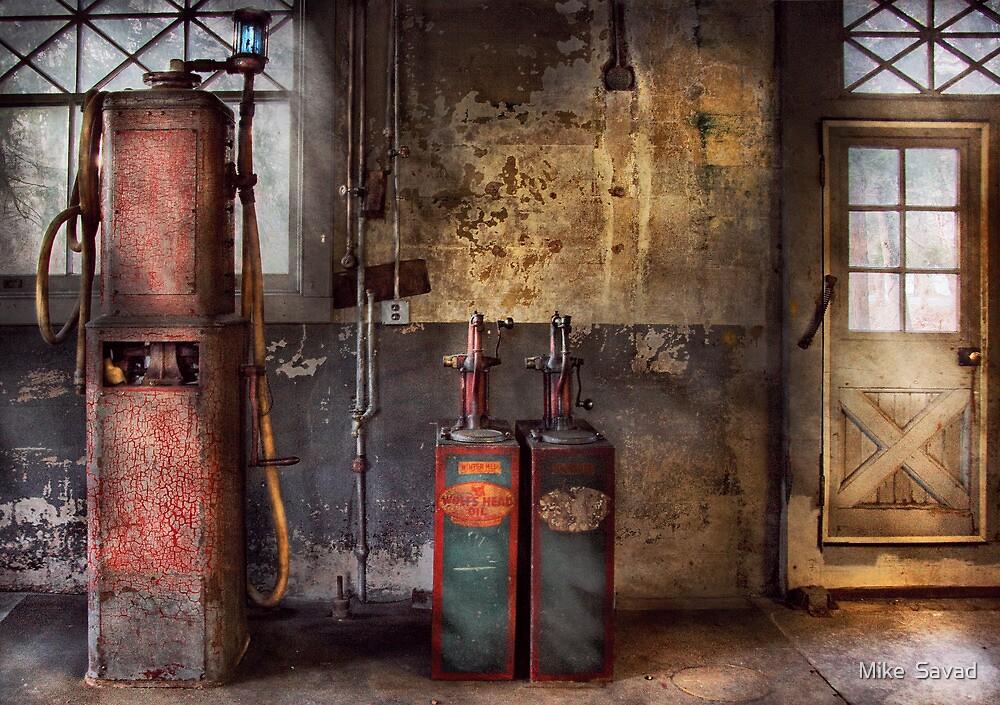 Car - Gas Pumps by Mike  Savad