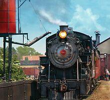 Train - Strasburg Number 9 by Mike  Savad