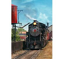 Train - Strasburg Number 9 Photographic Print