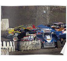 Wrecking in turn 4 Poster