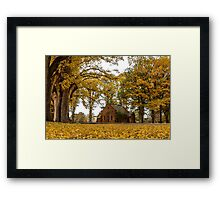From the Ground up! - Uralla NSW Australia Framed Print