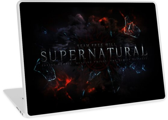 Quot Supernatural Quot Laptop Skins By Elocinmuse Redbubble