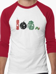 Very Hungry Men's Baseball ¾ T-Shirt