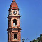 Italian Church Bell Tower by MaluC