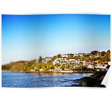 Manly Beach Houses Poster
