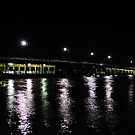 Old Mandurah Traffic bridge by Peter Rattigan