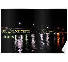 Old Mandurah Traffic bridge Poster