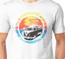 VW Kombi Sunset Design Unisex T-Shirt