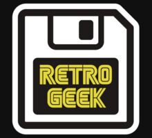 Retro Geek One Piece - Short Sleeve