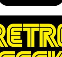 Retro Geek Sticker