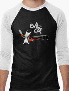 EVIL CAT Men's Baseball ¾ T-Shirt