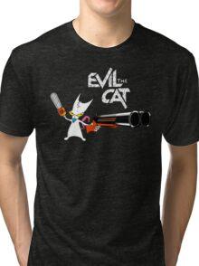 EVIL CAT Tri-blend T-Shirt