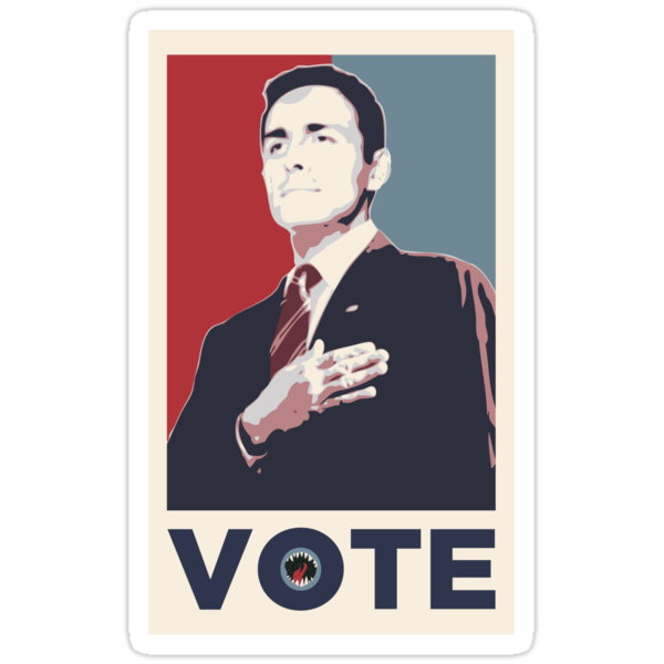 Dick Roman for Office by ElocinMuse