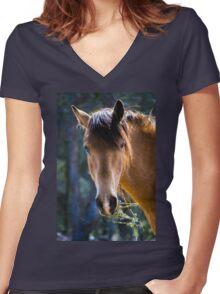 Nelson Women's Fitted V-Neck T-Shirt