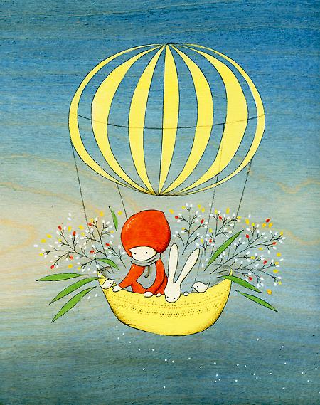Flower Traveler by naokosstoop