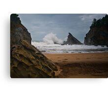 Simpsons Beach, Cape Arago, Oregon Canvas Print