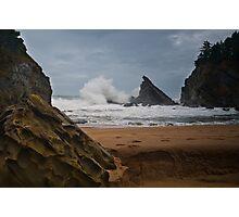 Simpsons Beach, Cape Arago, Oregon Photographic Print