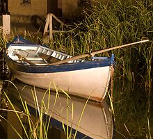 Whaler's boat, Maritime Village, Flagstaff Hill, Warrnambool by Roger Neal