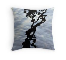 Ink blot Throw Pillow