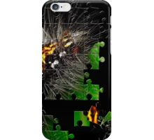 Hairy caterpillar iPhone Case/Skin
