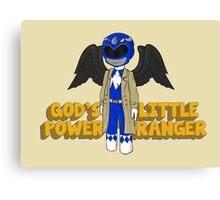 One of God's Little Power Rangers Canvas Print