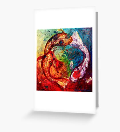 Within the Circle Greeting Card