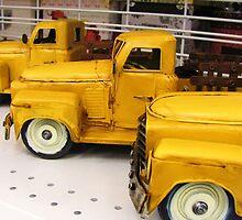 toy trucks by ANNABEL   S. ALENTON