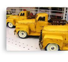 toy trucks Canvas Print