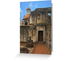 Colonial Style Old Convent Greeting Card