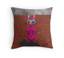 Drycol, alien all alone. Throw Pillow