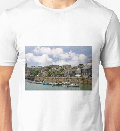 Penzance Harbour Scene Unisex T-Shirt