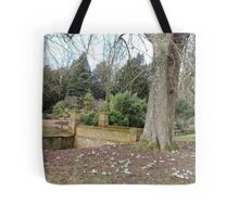 Snowdrop Strength Tote Bag