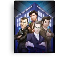 The Doctors Four Canvas Print